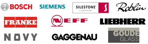 Bosch, Siemens, Neff, Franke, ...