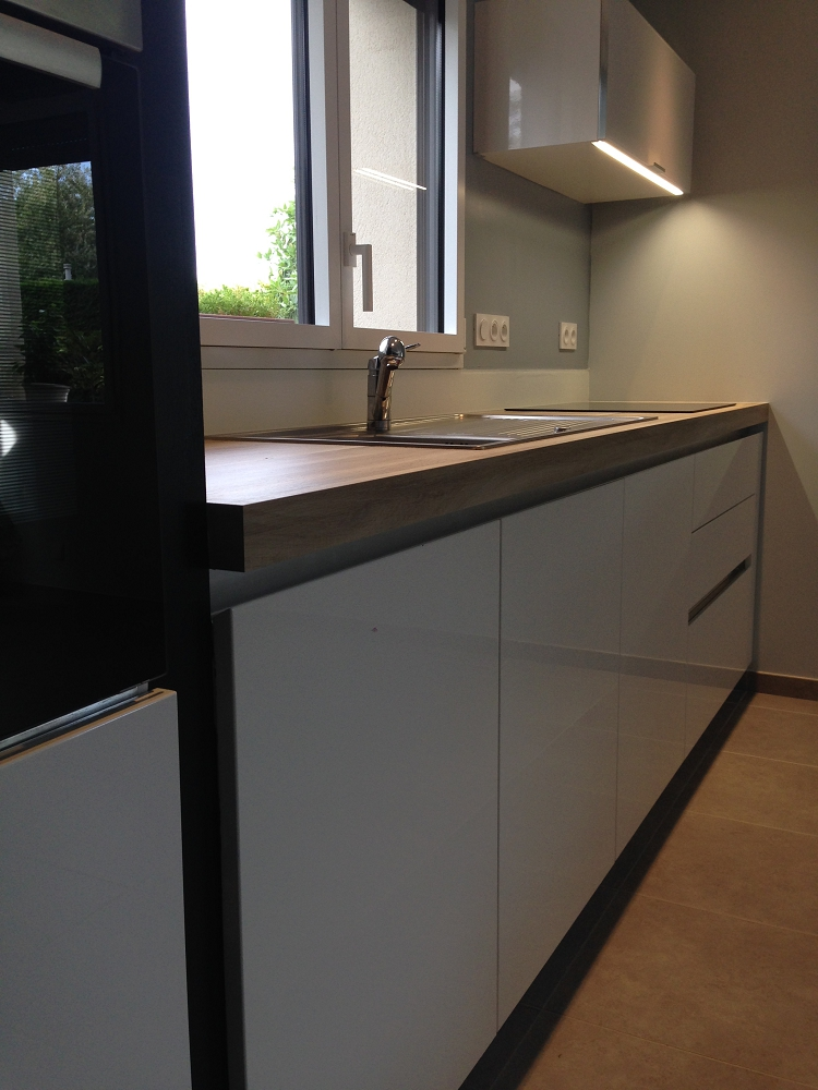 Cuisine lin aire cuisines habitat for Cuisine lineaire 4 metres