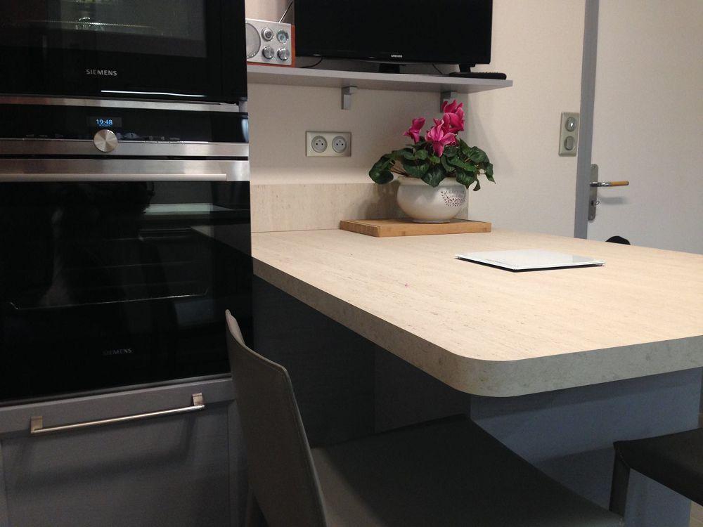 Une cuisine originale et fonctionnelle cuisines habitat for Placage cuisine